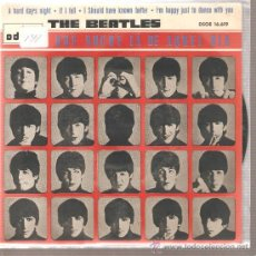Discos de vinilo: EP THE BEATLES - A HARD DAY´S NIGHT . Lote 22879025