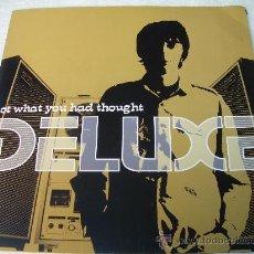 Discos de vinilo: LP DELUXE NOT WHAT YOU HAD THOUGHT XOEL LOPEZ VINILO. Lote 44947031