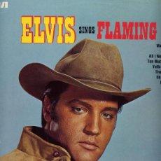 Discos de vinilo: ELVIS PRESLEY.BANDA SONORA.LP 33 RPM. FLAMING STAR. RCA. ALEMAN. Lote 26371729