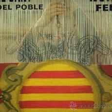 Discos de vinilo: NURIA FELIU.MUSICA CATALANA. LP 33 RPM.EL CANT DEL POBLE. MUSICA CATALANA. DISCOS BELTER AÑO 1977. Lote 27228311