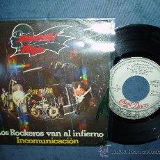 Discos de vinilo: BARON ROJO LOS ROCKEROS VAN AL INFIERNO HEAVY METAL SPAIN. Lote 27286131