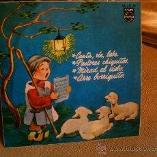 Discos de vinilo: SINGLE VILLANCICOS CANTA, RIE, BEBE - PASTORES CHIQUITOS. Lote 22935972