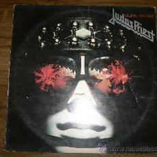 Discos de vinilo: JUDAS PRIEST KILLING MACHINE1978 CBS RECORDS. Lote 84348607