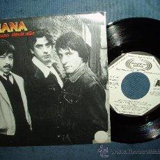 Discos de vinilo: TRIANA DE UNA NANA SIENDO NIÑO ROCK PROGRESIVO ANDALUZ PROMO SPAIN. Lote 27286135