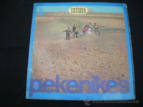 LP LOS PEKENIKES // DOBLE PORTADA // ORIGINAL HISPAVOX 1966 (Música - Discos - LP Vinilo - Grupos Españoles 50 y 60)