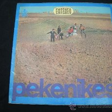 Disques de vinyle: LP LOS PEKENIKES // DOBLE PORTADA // ORIGINAL HISPAVOX 1966. Lote 24820752