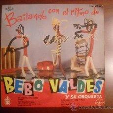 Discos de vinilo: BEBO VALDÉS Y SU ORQUESTA - EP - BAILANDO CON EL RITMO DE... 1961 . Lote 27617330