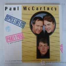 Discos de vinilo: THE BEATLES - PAUL MCCARTNEY - MAXI LP - SPIES LIKE US. Lote 27394990