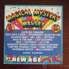 Discos de vinilo: THE BEATLES - MAGICAL MYSTERY MEDLEY - RELATED. Lote 27420396