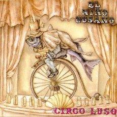 Discos de vinilo: LP EL NIÑO GUSANO CIRCO LUSO VINILO LOS PLANETAS. Lote 104121891