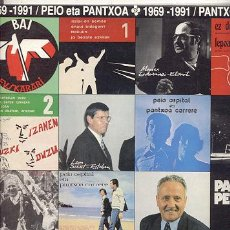 Disques de vinyle: LP DOBLE + DOBLE PORTADA 33 RPM / PANTXOA ETA PEIO /// EDITADO POR ELKAR. Lote 269497468