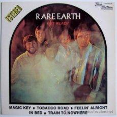 Discos de vinilo: RARE EARTH – GET READY – LP SPAIN 1970 – TAMLA MOTOWN MS-9015. Lote 49612141