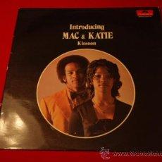 Discos de vinilo: MAC & KATIE KISSOON ( INTRODUCING MAC & KATIE KISSOON ) 1971 - GERMANY LP33 POLYDOR. Lote 23005575