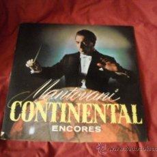 Discos de vinilo: MANTOVANI CONTINENTAL ENCORES LP PORTADA DOBLE 1958 DECCA SPA LK 4297 ORIGINAL. Lote 23013095