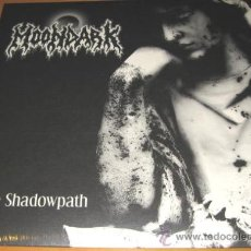 Discos de vinilo: MOONDARK - THE SHADOWPATH - TEMPLE 2007 - DEMIGOD / NECRONY / ENTOMBED - MINT SEALED. Lote 27514453