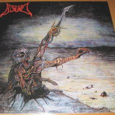 Discos de vinilo: BLOOD - IMPULSE TO DESTROY - LP - RODEL 2007 - LETRAS - NUEVO / MINT. Lote 23018073