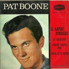 Discos de vinilo: PAT BOONE EP SELLO LONDON AÑO 1962. Lote 23026948