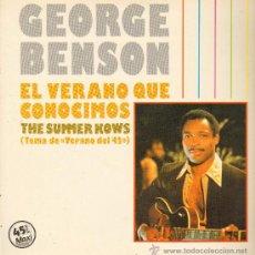 Discos de vinilo: GEORGE BENSON - THE SUMMER KNOWS (TEMA DE VERANO DEL 42) / TAKE FIVE - MAXISINGLE 1983. Lote 23032427