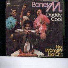 Disques de vinyle: BONEY M DADDY COOL SINGLE. Lote 23174522