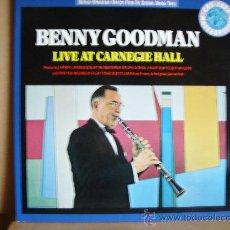 Discos de vinilo: BENNY GOODMAN ---- LIVE AT CARNEGIE HALL. Lote 23103183