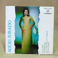 Discos de vinilo: DISCO, ROCIO JURADO, GITANOS, SCGE 81338, COLUMBIA, 45 RPM. Lote 23108126
