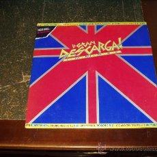 Discos de vinilo: LA GRAN DESCARGA DOBLE LP (GIRLSCHOOL,POISON GIRLS, RENTAL,SKUNS,U.K SUBS, THROBBING GRISTLE ETC,,). Lote 26367578