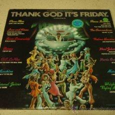 Discos de vinilo: 'THANK GOD IT'S FRIDAY' TRIPLE LP33 USA-1978 CASABLANCA RECORDS (DIANA ROSS - DONNA SUMMER -. Lote 275339853