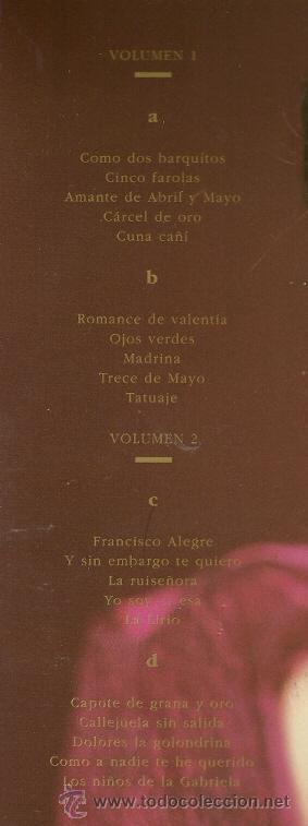 Discos de vinilo: ISABEL PANTOJA LP DOBLE (2 DISCOS) SELLO RCA AÑO 1990 LA CANCION ESPAÑOLA - Foto 2 - 23132943