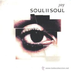 Discos de vinilo: SOUL II SOUL-JOY (RADIO MIX) + JOY (ALBUM MIXI SINGLE VINILO 1992 (EU). Lote 23139654