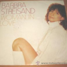 Discos de vinilo: BARBRA STREISAND - WOMAN IN LOVE - SINGLE - CBS 1980 SPAIN. Lote 23160472