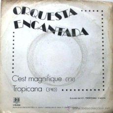 Discos de vinilo: ORQUESTA ENCANTADA - C'EST MAGNIFIQUE - SINGLE 1984 BELTER BPY. Lote 23161212