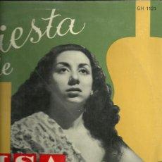 Discos de vinilo: LUISA ORTEGA LP SELLO GAMMA HISPAVOX EDITADO EN MEXICO. Lote 23162011