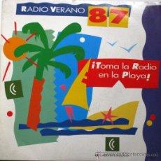 Discos de vinilo: RADIO VERANO 87 - TOMA, TOMA, TÓMALA - SINGLE 1987 GBBS RECORDS PROMO CADENA CATALANA BPY. Lote 26330108
