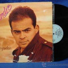 Discos de vinilo: - JANDRO - LEYENDAS - LUCAS RECORDS 1992. Lote 23166817