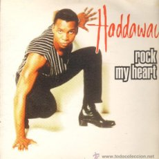 Discos de vinilo: HADDAWAY - ROCK MY HEART (4 VERSIONES) - MAXISINGLE 1994. Lote 23266444