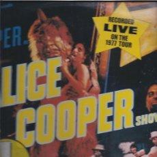 Discos de vinilo: ALICE COOPER SHOW LIVE 1977. Lote 23175360