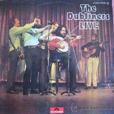 Discos de vinilo: LP - THE DUBLINERS - LIVE - EDICION ESPAÑOLA, POLYDOR 1976. Lote 23182682