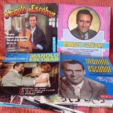 Discos de vinilo: SINGLES MANOLO EACOBAR LOTE DE 16 DISCOS. Lote 23198969