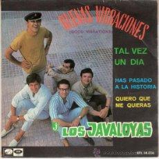 Discos de vinilo: LOS JAVALOYAS - BUENAS VIBRACIONES + 3 (EP DE 4 CANCIONES) EMI 1967 - VG++/EX. Lote 27081671