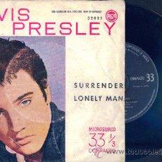 Discos de vinilo: ELVIS PRESLEY.SURRENDER. Lote 27268252
