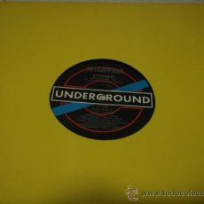 Discos de vinilo: ANTICAPPELLA 'EVERYDAY' EXTENDED MIX - TECHNO MIX & UNDERGROUND ENGLAND MAXI33 UNDERGROUND. Lote 23215989