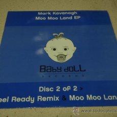 Discos de vinilo: MARK KAVANAGH ( FEEL READY ) ALAN PULLEN REMIX ( MOO MOO LAND 1 ) DON'T TOUCH ENGLAND-2002 MAXI . Lote 23216855