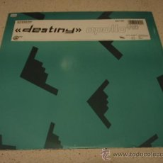 Discos de vinilo: APOLLO 440 'DESTINY' THETA WAVE IMMORTALITY REMIX - '126.2' BASS RESPONSE ENGLAND-1991 MAXI45. Lote 23217368
