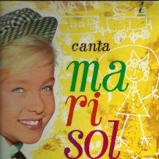 Discos de vinilo: MARISOL LP SELLO MONTILLA ZAFIRO REEDICCIÓN MS 502 . Lote 23231844