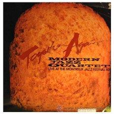 Discos de vinilo: THE MODERN JAZZ QUARTET - LIVE AT THE MONTREUX JAZZ FESTIVAL 1982 - LP MADE IN USA. Lote 23264598
