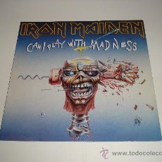 Discos de vinilo: IRON MAIDEN / CAN I PLAY WITH MADNESS - NWOBHM - MAXI 3 TEMAS MADE IN ENGLAND 1988 - !!. Lote 26283810