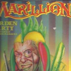 Discos de vinilo: MARILLION GARDEN PARTY. Lote 23274824