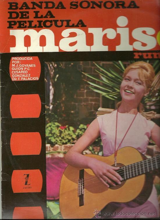 MARISOL LP SELLO GAMMA ZAFIRO EDITADO EN MEXICO DEL FILM MARISOL RUMBO A RIO (Música - Discos - LP Vinilo - Flamenco, Canción española y Cuplé)