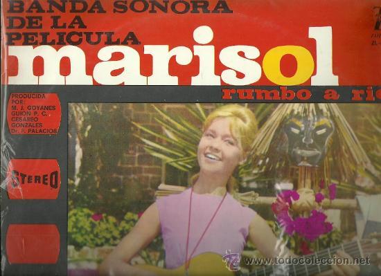 MARISOL LP SELLO ZAFIRO EDITADO EN COLOMBIA DEL FILM MARISOL RUMBO A RIO (Música - Discos - LP Vinilo - Flamenco, Canción española y Cuplé)