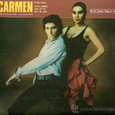 Discos de vinilo: MARISOL (PEPA FLORES) LP SELLO POLYDOR AÑO 1983 BANDA SONORA DEL FILM CARMEN. Lote 23278255